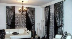 Latest style of living room curtains 2014 | decoration