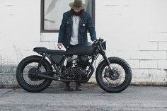 The brief was to turn a 1978 CB750 into the ultimate murdered-out custom. Samuel Guertin of Canada's Clockwork Motorcycles delivered the goods.