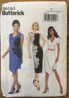 UNCUT Misses' Dress Pattern Butterick 6163 Size by SewPatterns