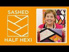 MSQC Tutorial- Sashed Half Hexi Quilt