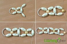 Do you like DIY pearl choker necklace? In this Pandahall tutorial, I'll show you how to make a pearl choker necklace with pearl flower pendant. Pearl Choker Necklace, Bead Earrings, Beaded Jewelry, Beaded Bracelets, Diy Jewellery, Diy Crafts Jewelry, Pearl Flower, Flower Pendant, Jewelry Patterns