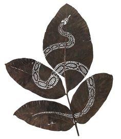 Leaf art by Lorenzo Duran11