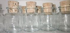 12 Princess House HERITAGE Spice Jars # 012