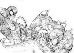 Spider-Man Vs. Venom by nicholaskole on deviantART