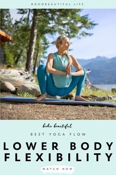 A 20 minute yoga workout class that will strengthen and tone your entire lower body. | Yoga Workouts for Beginners | Working through different glute and leg toning exercises this Boho Beautiful yoga workout blast will help you find more definition and flexibility in your entire lower body. | Yoga Poses | Yoga Routine | Juliana Spicoluk Yoga Teacher | Boho Beautiful #yoga #workout #fitness #exercise #lowerbody #flexibility