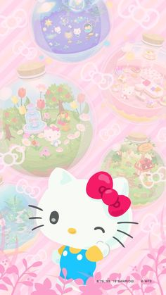 Line quick game Hello Kitty Iphone Wallpaper, Hello Kitty Backgrounds, Sanrio Wallpaper, Kawaii Wallpaper, Wallpaper Iphone Cute, Cute Wallpapers, Phone Wallpapers, Hello Kitty Pictures, Kitty Images