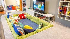Aproveite ideias da Casa Cor no quarto das crianças e dos adolescentes Playroom Design, Kids Room Design, Interior Design Living Room, Playroom Ideas, Childrens Bedroom Ideas, Ikea Kids Playroom, Toddler Playroom, Design Interior, Kids Bedroom Organization