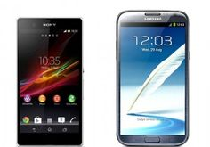 Samsung Galaxy Note 2 Vs Sony Xperia Z: The Two Tantalizing Models Go Head On
