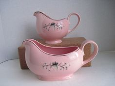 Pink Vintage Kitchen, Taylor Smith Taylor Pink Dwarf Pine Gravy by TheEnduringAppeal