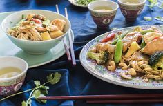 Sweet and sour chicken stir fry