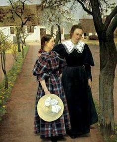 Laurits Andersen Ring (1854-1933): Spring