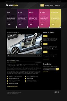Intuit Design WordPress Themes by Cowboy