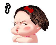 Funny Cartoon Gifs, Funny Emoji Faces, Emoji Images, Cute Cartoon Pictures, Cute Cartoon Girl, Cute Love Cartoons, Cute Love Memes, Cute Love Gif, Animated Emoticons