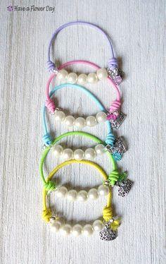 how to make elastic bracelet video