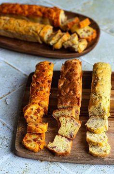 5 cakes salés pour l'apéritif (avec une seule pâte) Vol Au Vent, Tapas, Brunch, Cake Factory, Chorizo, Finger Foods, Food Videos, Bacon, Food And Drink