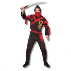 Check out the Dragon Ninja Warrior Costume at www.karatemart.com