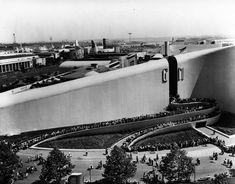 Norman Bel Geddes. Pabellón de General Motors en la World's Fair de Nueva York de 1939