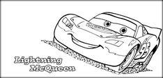 Kids Disney Car Coloring Book