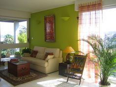 Feng Shui using all five element colors