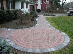 Rounded Patio. Backyard PaversPatio DesignThe RoundPatio ...