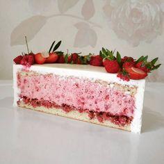 49 ideas cake recipes vanilla frostings for 2019 Cake Mix Desserts, Fancy Desserts, Frosting Recipes, Cake Recipes, Dessert Recipes, Napoleon Cake, Sparkle Cake, Cake Decorating Icing, Wedding Cake Pops