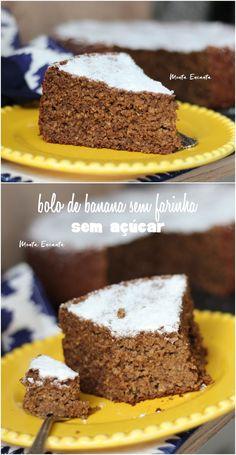 Sin Gluten, Bolos Light, Gluten Free Recipes, Coco, Free Food, Cake Recipes, Good Food, Food And Drink, Low Carb