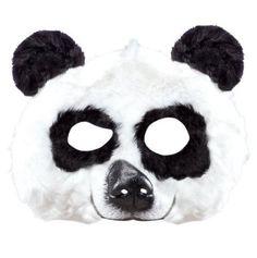 Amazon.com: Rubie's Plush Animal Mask - Panda: Toys & Games