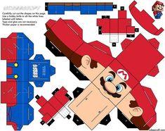 creative fun cubecraft diy 1 15 Cubeecraft Paper Toy Models You Will Want To Make! Super Mario Party, Mario Crafts, Retro Game, Mario Birthday Party, Paper Mario, Toy Art, Mario And Luigi, Japanese Paper, Paper Models
