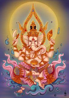 Shri Ganesh! Ganesha by ZOEIZOEI