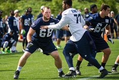 Tackling the competition at right tackle