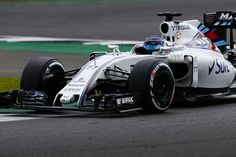 Williams testing at Silverstone 2016.