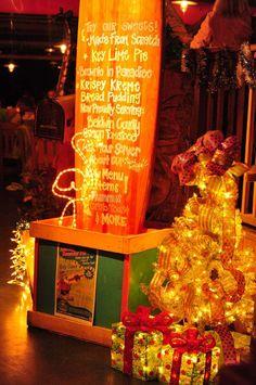 Christmas at LuLu's #lulus #gulfshores #christmaslights