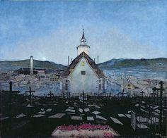 "Harald Sohlberg, ""Night"" (1904)"