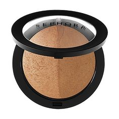 SEPHORA COLLECTION Microsmooth Bronzer Duo 01 Honey Heat ** Read more at the image link.