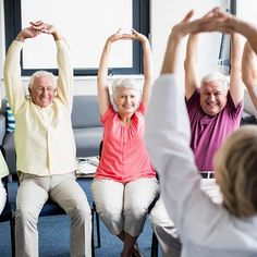 Exercising is challenging for seniors with limited mobility. Take strides toward your fitness goals by starting with chair exercises for seniors. Benefits Of Exercise, Do Exercise, Regular Exercise, Excercise, Chair Exercises, Back Exercises, Stretches, Yoga For Seniors, Exercises For Seniors