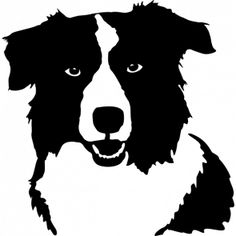 border collie silhouette svg - Google Search