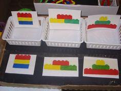Lego assembly task