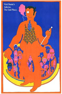 """This surrealist poster by Seymour Chwast from 1967 is so iconic that it made it onto the set of TV series """"Mad Men"""". (A brief personal history of illustration   Design Indaba)"""