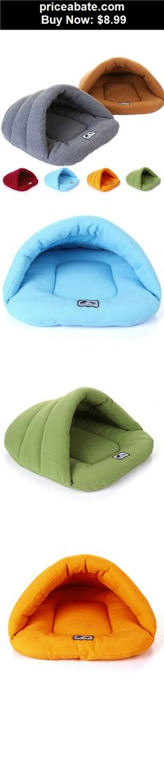 Animals-Dog: Pet Dog Crate Cat Kitten Cave Keep Warm Winter Bed House Sleeping Bag Plush Mat - BUY IT NOW ONLY $8.99