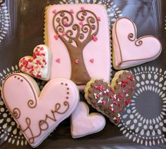 Valentine Cookie Decoration Idea
