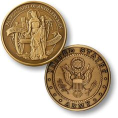 U s Army Saint Barbara Patron Saint of Artillerymen Bronze Challenge Coin | eBay