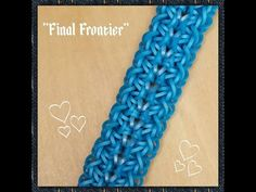 """New """"Final Frontier"""" Hook Only Bracelet/How To Tutorial - YouTube"""