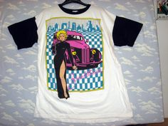 Vintage Breathless Mahoney Madonna Dick Tracy Disney T Shirt 1990's XXL | eBay