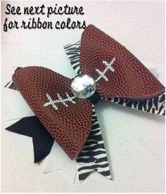 how to make a bow out of football - Google Search