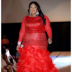 """( @gorgeouslyso ) It's a refreshing thing to see how beautiful and fashion forward our plus size women can be. You inspire me to break away from stamps and stereotypes in reference to how """"we"""" cannot..."""