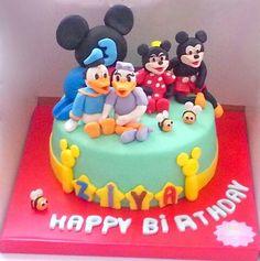 Mickey Mouse ve Club Evi Pasta. Renkli Tatlar Butik Pasta. İletisim : 0533 6688680.