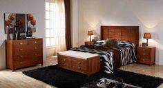 Dormitorio colonial serie Wood http://www.artesaniadecoracion.com/tienda/DORMITORIO-COLONIAL-WOOD.html