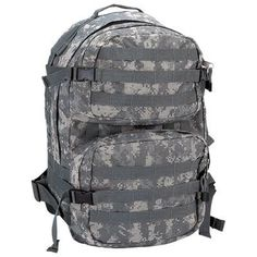 Digital Camo Army Backpack