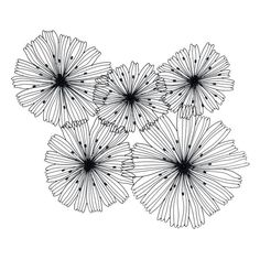 Cover your wall with this astonishing DecMode 5 Flower Metal Wire Wall Sculpture - 50 x 38 in. Wire spokes radiate out from center and curl at the. Metal Flower Wall Decor, Metal Tree Wall Art, Metal Flowers, Floral Wall, Wall Sculptures, Tree Art, Metal Walls, Doodle Art, Art Drawings