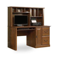 J.Conrad Furniture - Sauder Orchard Hills Computer Desk with Hutch (418650), $263.99 (https://www.jconradfurniture.com/Sauder-Orchard-Hills-Computer-Desk-with-Hutch-418650/)
